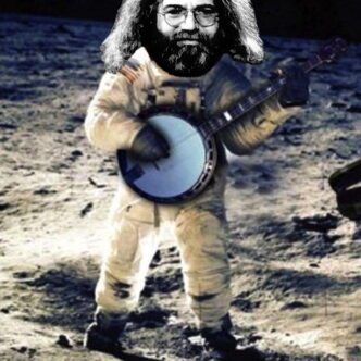 """JERRY GARCIA- """"LOOKING INTO THE NEXT CENTURY"""""""