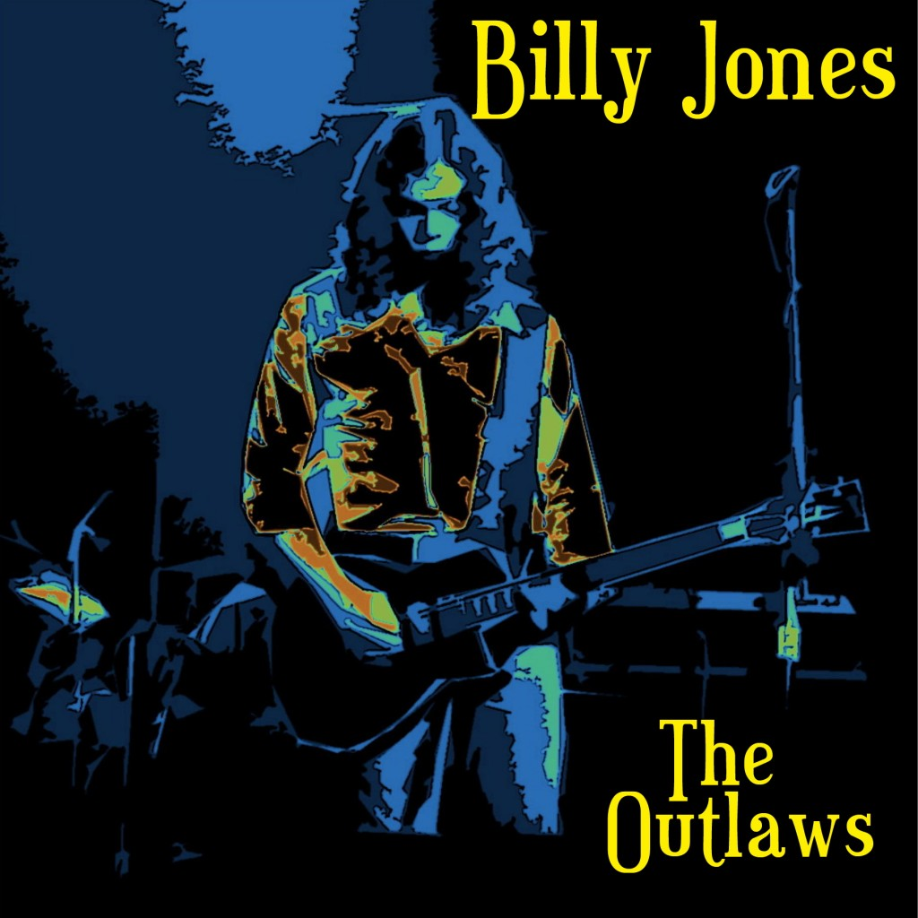 Billy Jones of the Outlaws performing Live at Winterland in San Francisco on 3/6/76. Photo/Art by Ben Upham. Magical Moment Photos.