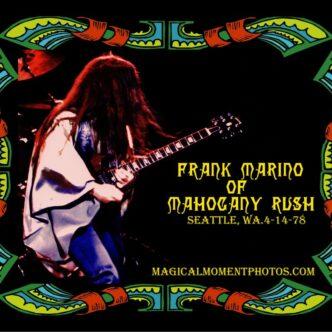 FRANK MARINO & MAHOGANY RUSH PHOTOS & ARTWORK.