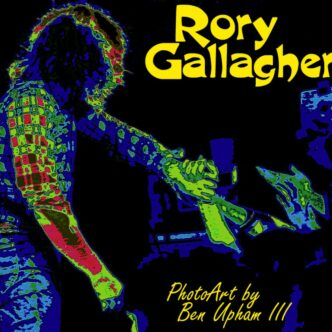 RARE RORY GALLAGHER PHOTOS & ARTWORK FROM 1975 & 1979