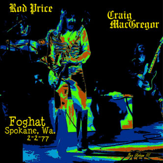 """FOGHAT-  """"A Sizzling Session with Foghat"""" (July 1980)"""
