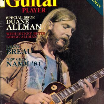Duane Allman- (1946-1971) Guitar Player Magazine Article from October 1981